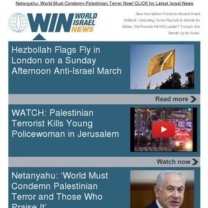 Netanyahu: World Must Condemn Palestinian Terror Now! CLICK for Latest Israel News ( https://madmimi.com/p/76cf4a?fe=1&pact=0 )  ( https://worldis...