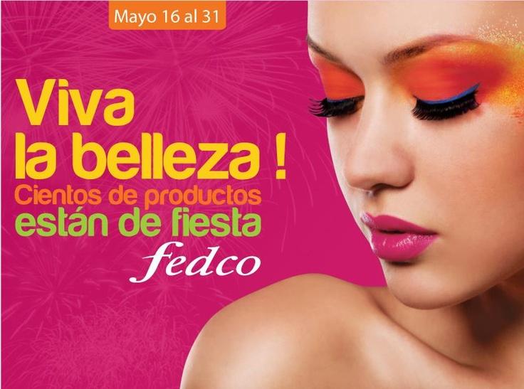 En Fedco celebramos la belleza, por eso cientos de productos están de fiesta. 50 % MENOS en referencias seleccionadas