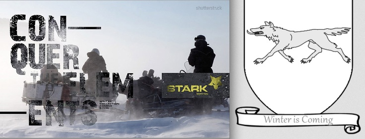 Stark Outfitters. This one is perfect, bravo, Shutterstock. if only it was real...