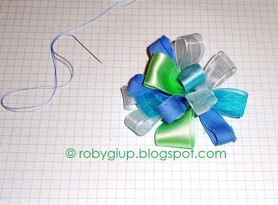 Fiocco handmade, tutorial completo! - Handmade bow, full tutorial! #tutorial #DIY #recycling #bow #fiocco #riciclo