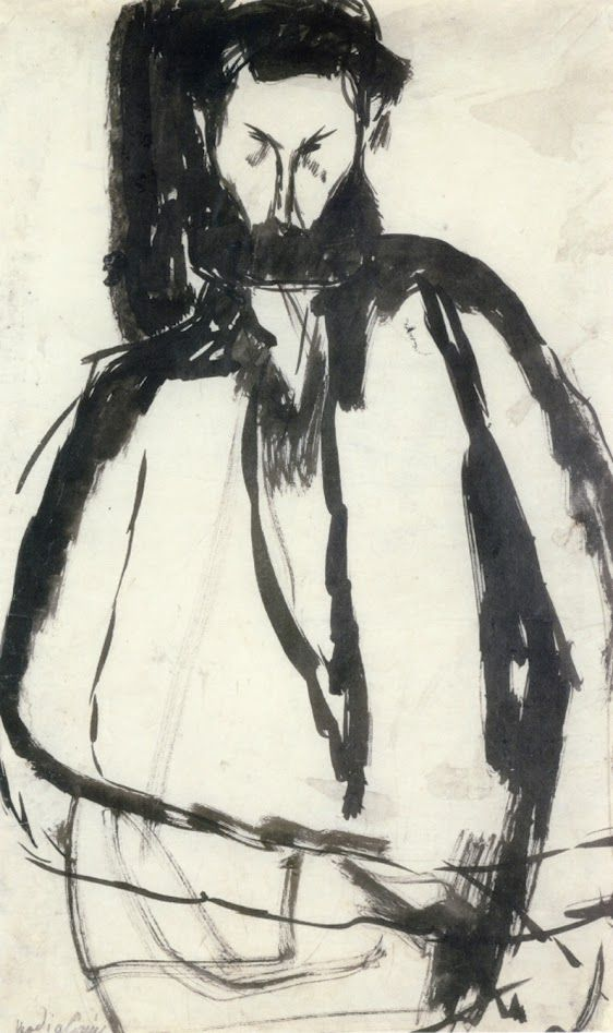 Amedeo Modigliani, Bearded Man, 1905