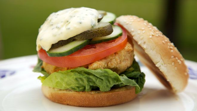 Broodje visburger - recept   24Kitchen