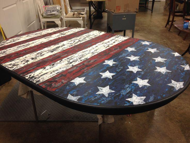 Americana table top