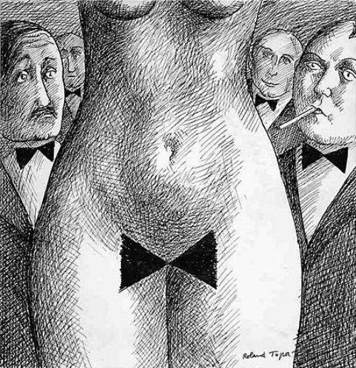 Popclub de José Arthur cover art by Roland Topor