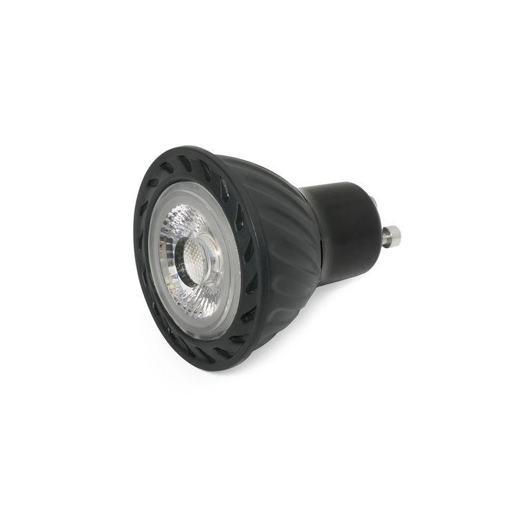 Lámpara de LED de alta potencia y gran ángulo de abertura - Fría | Bombillas LED GU10 y MR16 | Lámparas e iluminación #interiorismo #decoracion #lamparas #arquitectura #diseño #bombillas #bombillasespeciales