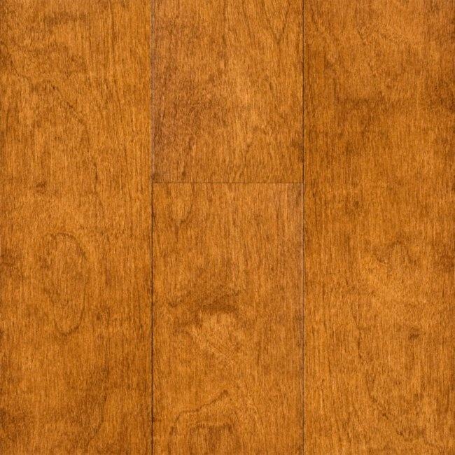 Schon engineered toasted cinnamon birch flooring via for Engineered hardwood siding