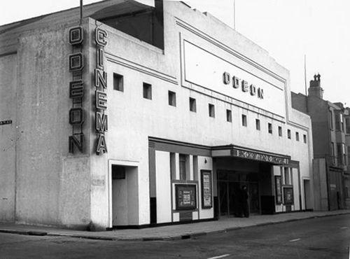 Old cinema Brighton - St George's road Kemp town