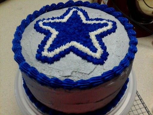 How To Decorate A Dallas Cowboy Cake