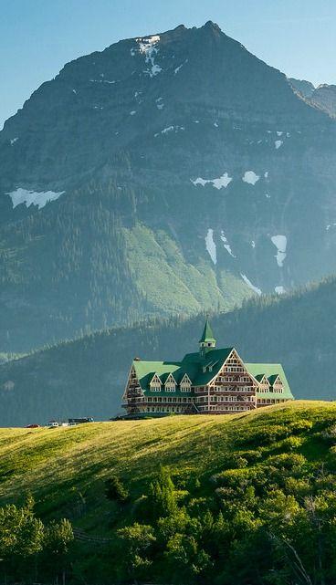 Waterton Lake National Park in the Canadian Rockies.