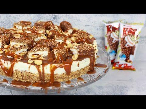 Kinder Maxi King Torte - No Bake Torte / Kühlschranktorte - YouTube