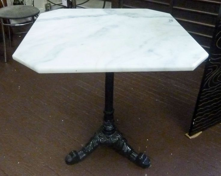 Marble Top Bistro Table with Two Chrome Chairs & 13 best Bistro Table images on Pinterest | Cafe tables Coffee ...