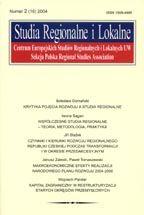 Wydawnictwo Naukowe Scholar :: :: 2004 STUDIA REGIONALNE I LOKALNE nr 2(16)