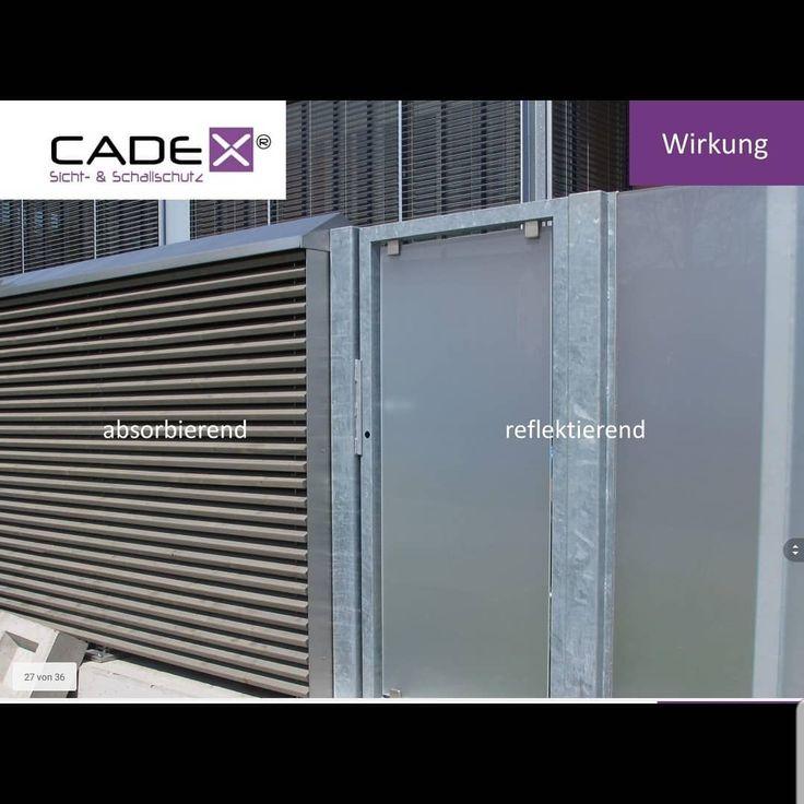 CADEX® Sichtschutz, Schallschutz www.sichtschutz