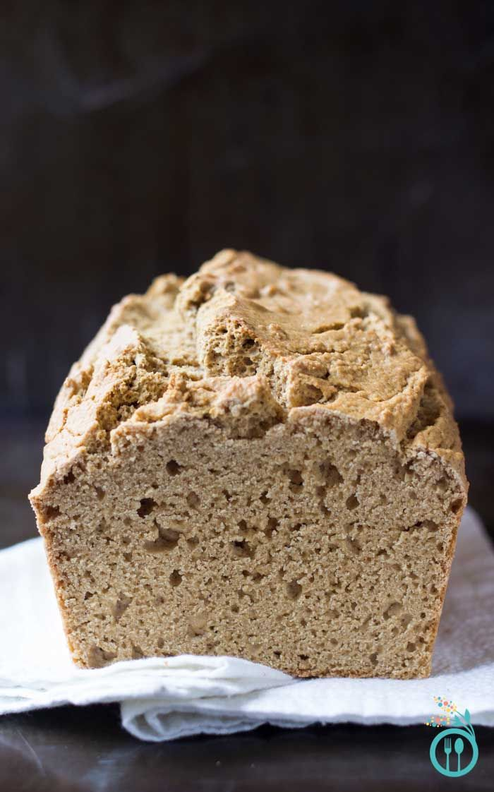 Gluten-Free Quinoa Bread that perfect for sandwiches -- and BONUS it's also yeast-free too!