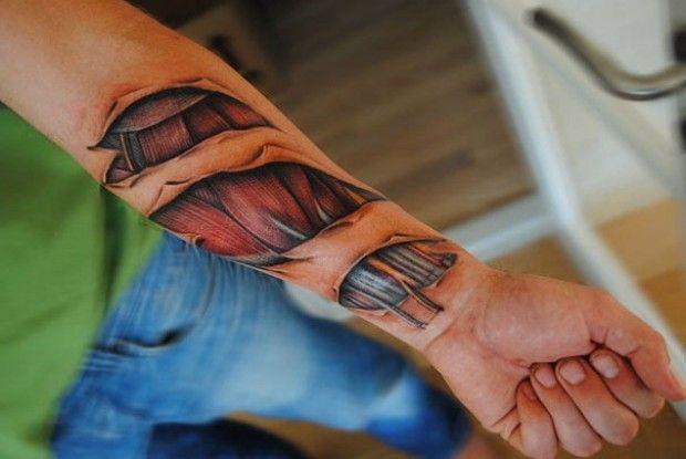 I tatuaggi più realistici del mondo