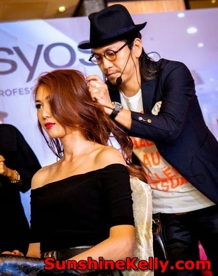 SYOSS Professional Hair Care & Hair Styling in Malaysia l Sunshine Kelly - Daisuke Hamaguchi, CEO Number 76 Hair Salon CEO http://www.sunshinekelly.com/2014/02/syoss-professional-hair-care-hair-styling-in-malaysia.html
