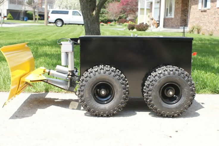 The PlowBot (RC snow plow) - Page 2