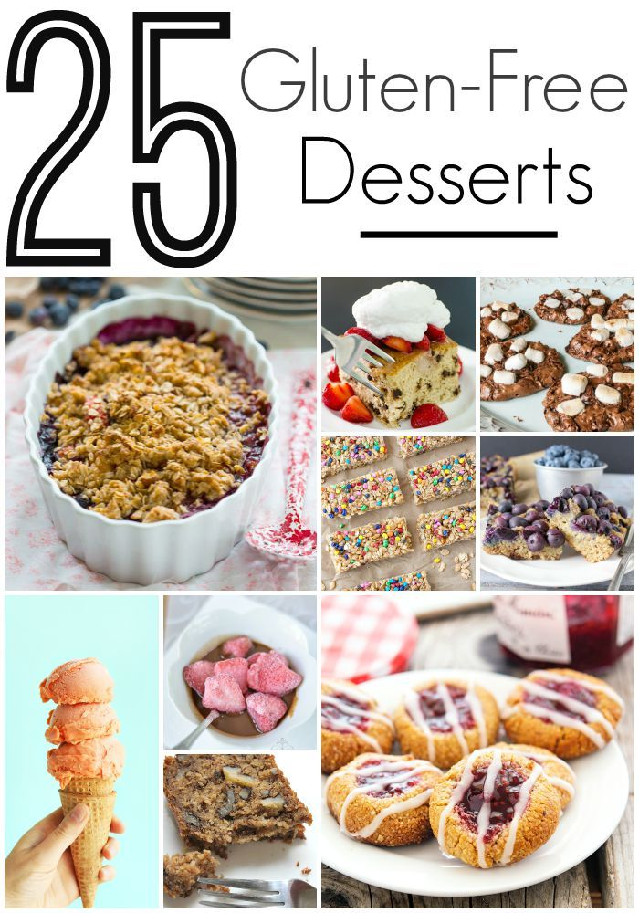 Delicious and easy to make Gluten Free Desserts!