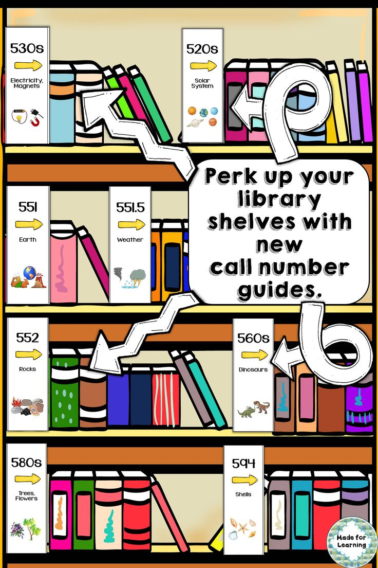 Help students find what they want with new signs added to best-selling call number guide. $