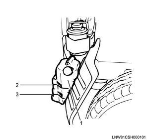Timing gear train installation (4HK1 (Euro5 specification