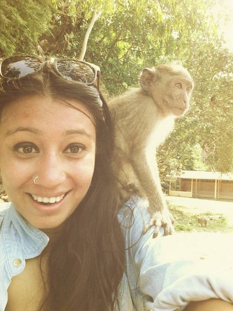 Super friendly monkeys at #KhaoSok National Park. #Travel #Adventure #TravelAdventurer #GreabYourDream #Thailand