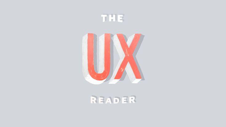 The UX Reader: MailChimpのUXチームがeBookを公開