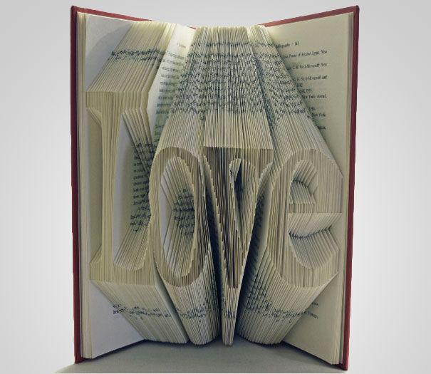 Love book art