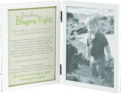 a great grandma photo frame for the grandma who loves her bragging rights from the