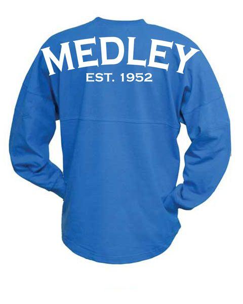 Medley Swim Jersey Cobalt Blue | SwimWithIssues