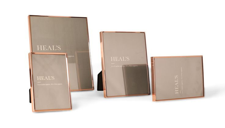 Showcase your precious moments with our simple but elegant copper plated photo frames. Available in a selection of sizes, these timeless classics are minimally designed to complement any home.