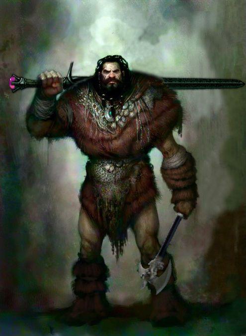 Human Barbarian | Dungeons & Dragons | Pinterest ...