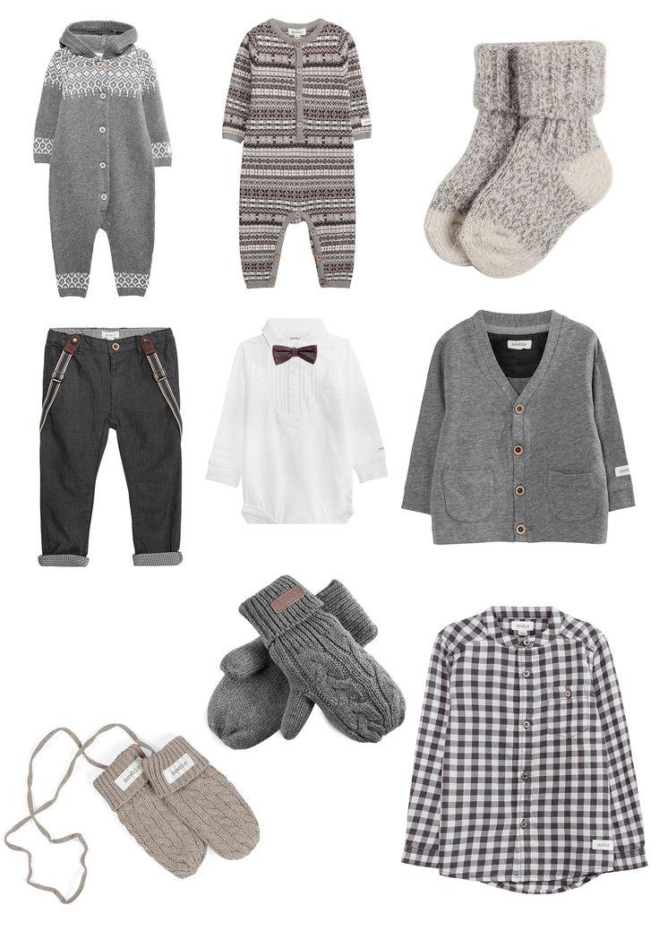 Propozycje ubrań dla chłopców do sesji świątecznej