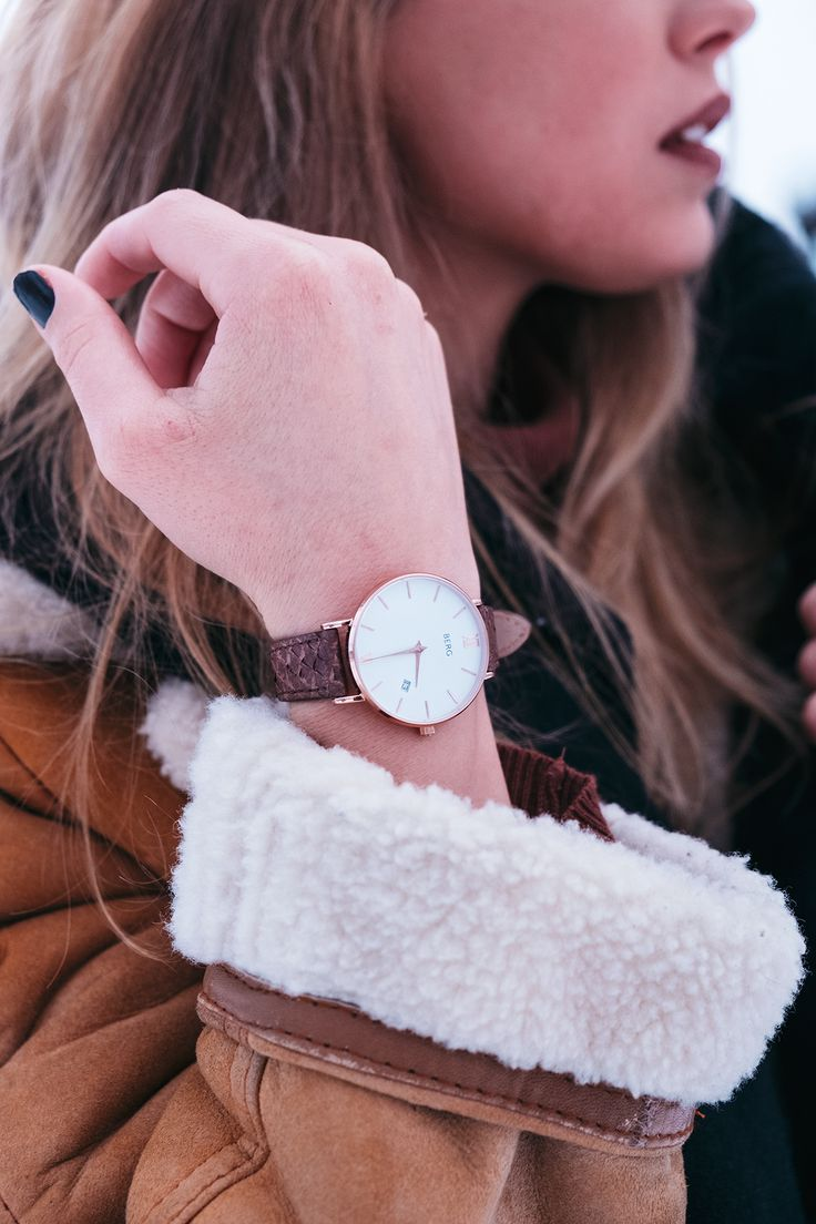 Inspired by the raw and beautiful nature of Norway! Nordic fashion at it's finest.  #fashion #womensfashion #watches #bergwatches