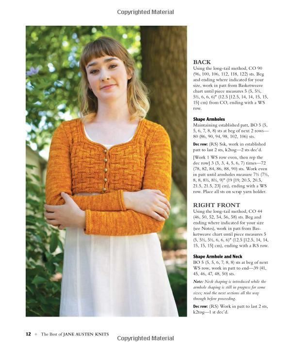 Atractivo Jane Austen Knitting Patterns Ornamento - Ideas de ...