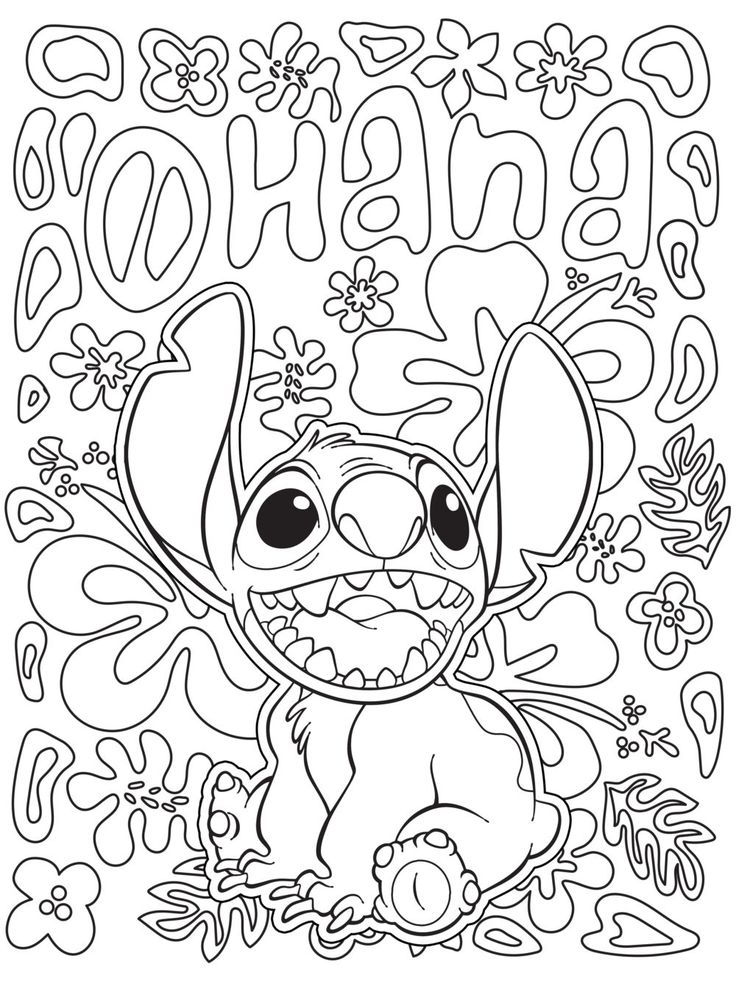 Colouring pages to print