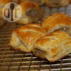 Chive Sausage Rolls @ allrecipes.com.au