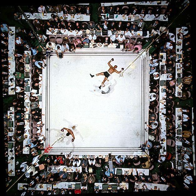 Muhammad Ali vs Cleveland Williams, by Neil Leifer 1966