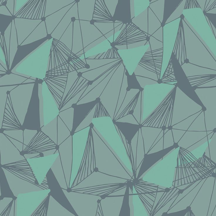 Seamless Geometric Pattern | Removable Wallpaper | WallsNeedLove