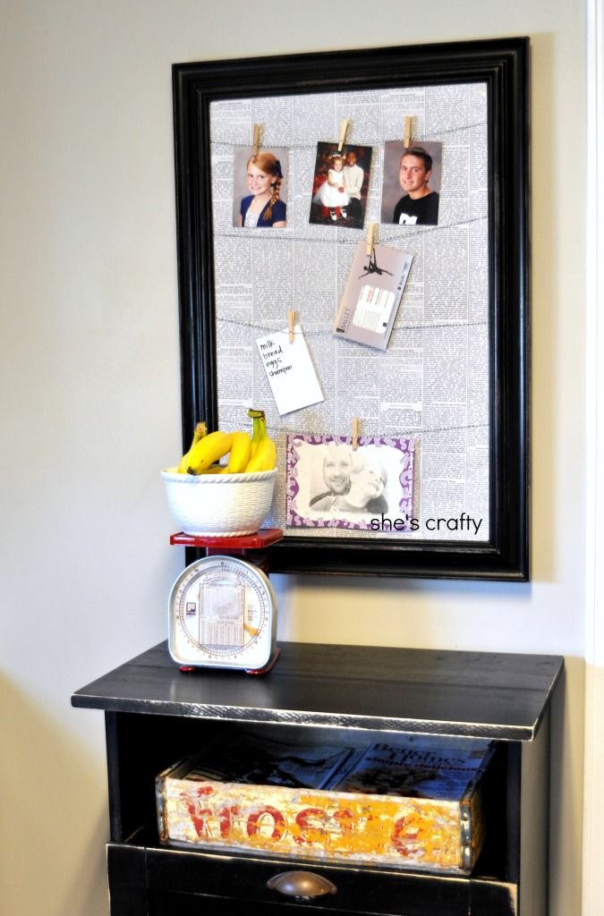 She's crafty: Message Board
