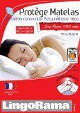 Protege Matelas 110X190 Forme Housse Arnaud Bonnets 27Cm Cot.Impermeable Micro Respirant