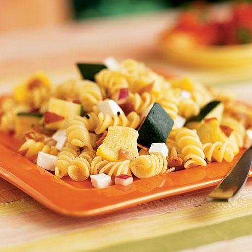 Warm Pasta Salad with Shrimp Recipe