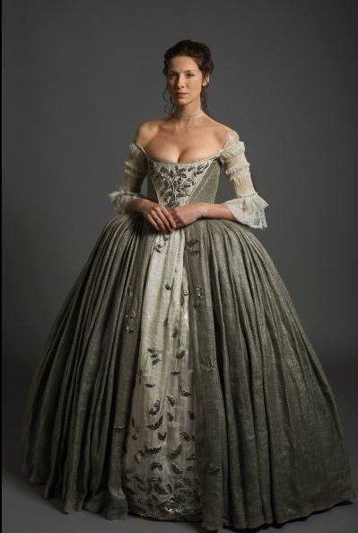 18th Century Scottish Claire Fraser Wedding von De…