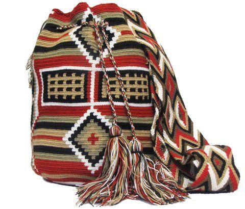 Mochila Wayuu /Exotic Wayuu Bag - comprar online