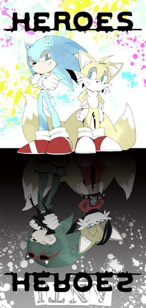 Sonic and Tails/Scourge and Miles