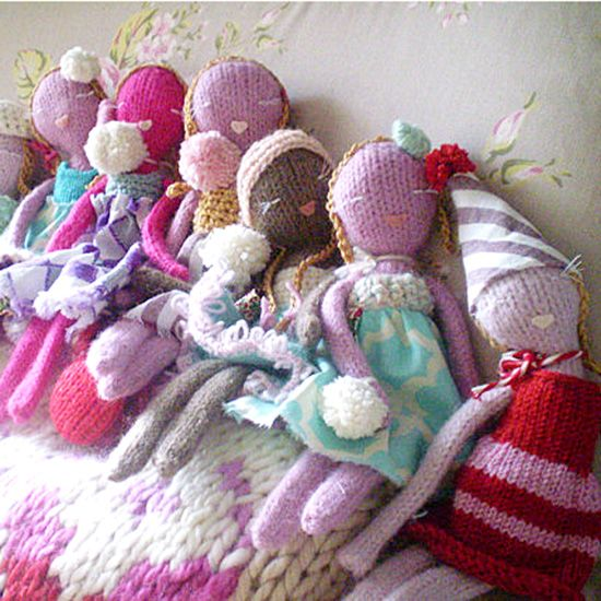Knitting Pattern Baby Toy : 302 best images about Dolls - knitted on Pinterest Free ...