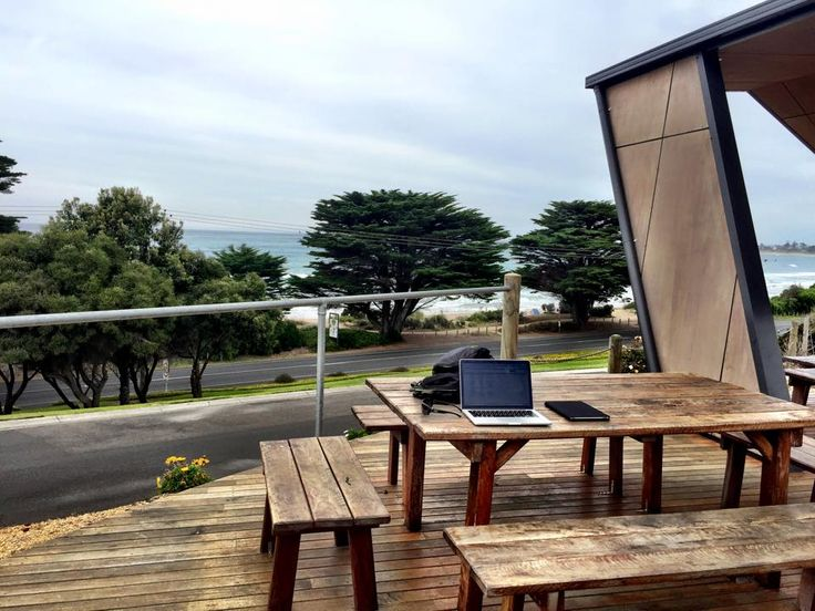 Great picture from Steve Saporito on Facebook. This was his office for the day! #big4apollobaypisces #apollobay