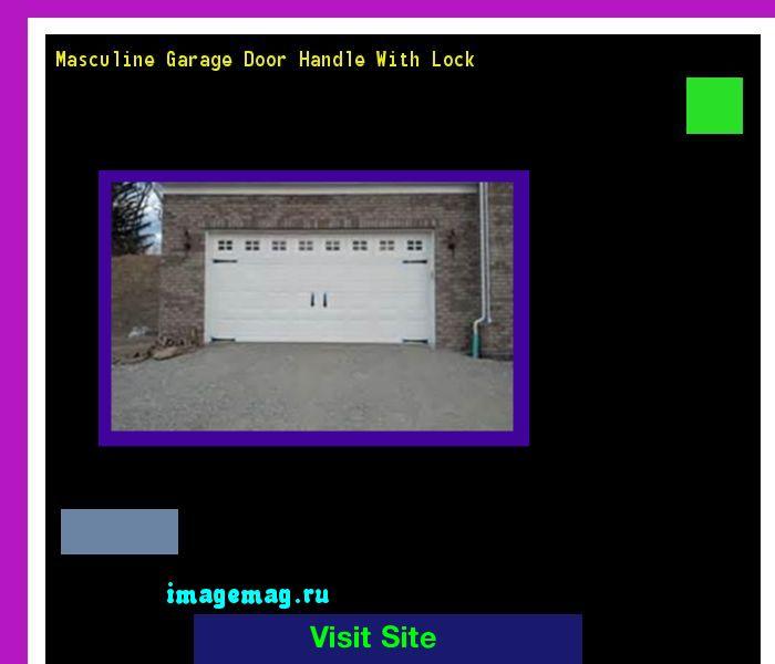 Masculine Garage Door Handle With Lock 163824 - The Best Image Search