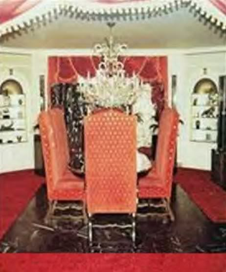 Graceland a sit looked until Elvis  death it was decorated by Elvis and  Linda Thompson when she moved in  Priscilla remodeled it back to the way it  was when. 12 best Graceland images on Pinterest   Elvis presley family
