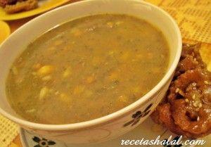 harira  la sopa   marroquí