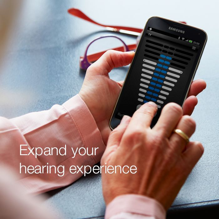 The ReSound Smart app and Control app lets you personalise and control your hearing aid settings from your smartphone.   Visit resound.com/en-AU/hearing-aids/ accessories